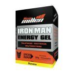Iron Man Instant Energy Gel - 10 Unidades 30g Banana - New Millen