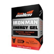 Iron Man Instant Energy Gel - 10 Unidades 30g Frutas Vermelhas - New Millen