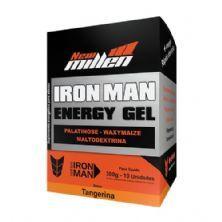 Iron Man Instant Energy Gel - 10 Unidades 30g Tangerina - New Millen