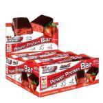 Iron Man Power Protein Bar - Caixa com 12 Unidades Morango - New Millen