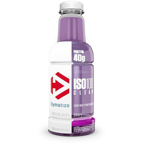 Iso 100 Clear - 591ml Uva - Dymatize