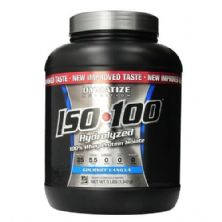 Iso 100 Whey Protein Isolado - 1342g Baunilha - Dymatize Nutrition