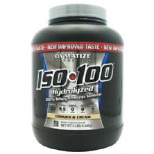 Iso 100 Whey Protein Isolado - 1360g Cookies & Cream - Dymatize Nutrition