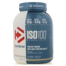Iso 100 Whey Protein Isolado - 2270g Baunilha - Dymatize Nutrition