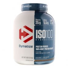 Iso 100 Whey Protein Isolado - 2300g Chocolate - Dymatize Nutrition