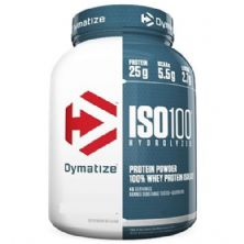 Iso 100 Whey Protein Isolado - 2300g Fudge Brownie - Dymatize