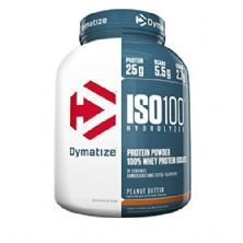 Iso 100 Whey Protein Isolado - 725g Peanut Butter - Dymatize