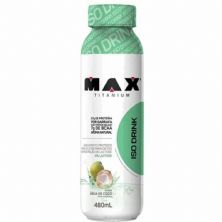 Iso Drink - 480ml Água de Coco - Max Titanium