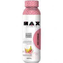 Iso Drink - 480ml Morango Com Banana - Max Titanium