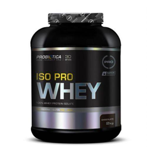 Iso Pro Whey - 2000g Chocolate - Probiotica no Atacado