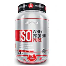 Iso Whey Protein Pure - Morango - 930 g - Midway
