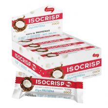 Isocrisp Whey Bar - 12 unidades 55g Coco - Vitafor*** Data Venc. 10/02/2021