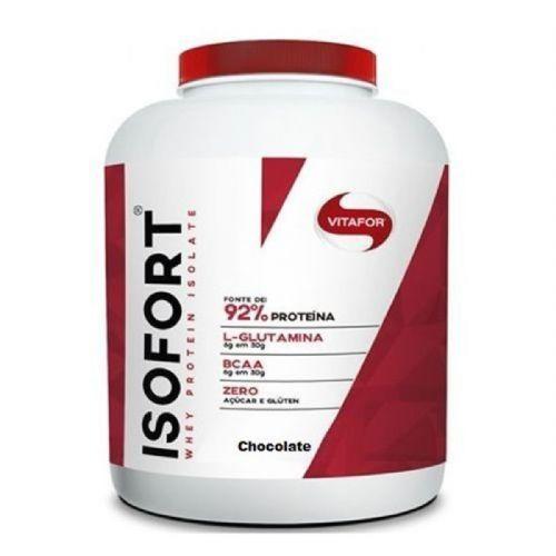 Isofort - 1800g Chocolate - Vitafor no Atacado