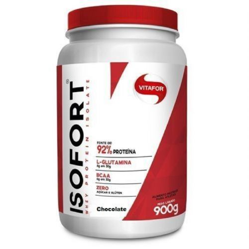 Isofort - 900g Chocolate - Vitafor no Atacado
