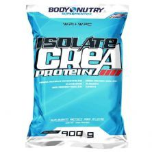 Isolate Crea Protein - 900g Refil Morango - Body Nutry