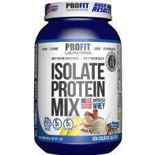 Isolate Protein Mix -  907g Banana com Canela - Profit