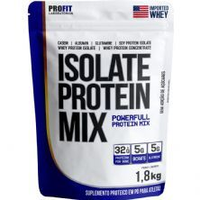 Isolate Protein Mix Refil Stand-Up - 1.800g Banana com Canela - ProFit