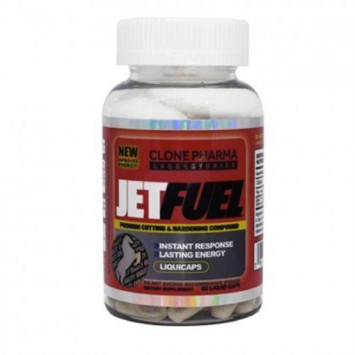 Jet Fuel - 60 Cápsulas - Clone Pharma no Atacado