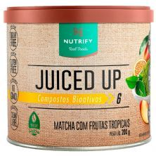 Juiced Up - 200g Matcha com Frutas Tropicais - Nutrify