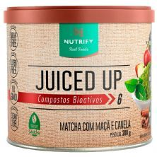 Juiced Up - 200g Matcha com Maça e Canela - Nutrify