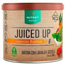 Juiced Up - 200g Matcha com Laranja e Acerola - Nutrify