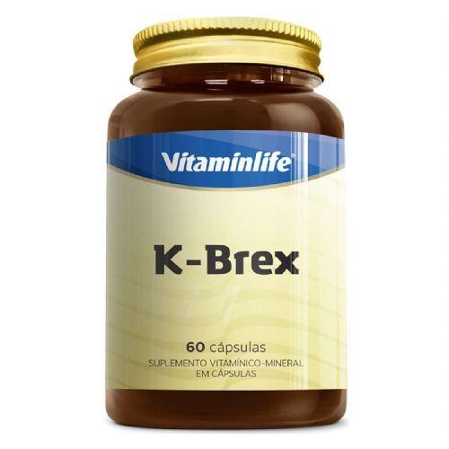 K-Brex - 60 Capsulas - VitaminLife no Atacado