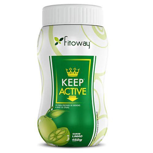 Keep Active - 100g Limão - Fitoway no Atacado