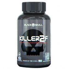 Killer 2F - 120 Cápsulas Cafeina - Black Skull
