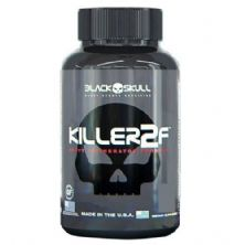 Killer 2F - 60 Cápsulas Cafeina - Black Skull