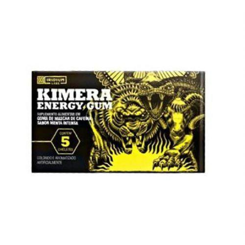 Kimera Energy Gum - 1 Unidade com 5 Gomas Menta Intensa - Iridium no Atacado