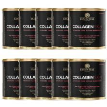 Kit 10 Collagen Skin - 300g  Cranberry - Essential Nutrition