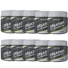 Kit 10 Predator Creatina 100% Monohidratada - 150g - Nutrata
