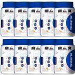 Kit 10 Top Whey 3W - 900g Vitamina de Frutas - Max Titanium no Atacado