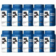 Kit 10X 100% Whey - 900g Chocolate - Max Titanium