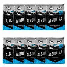 Kit 10X Albumina - 500g Sem Sabor  - Proteína Pura