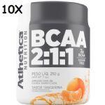 Kit 10X BCAA 2:1:1 - 210g Tangerina - Atlhetica Nutrition no Atacado