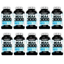 Kit 10X BCAA 3000 - 50 Cápsulas - Body Nutry
