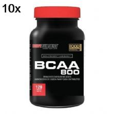 Kit 10X BCAA 800 - 120 Tablets - BodyBuilders