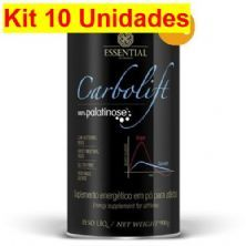 Kit 10X Carbolift 100% Palatinose - 900g - Essential Nutrition