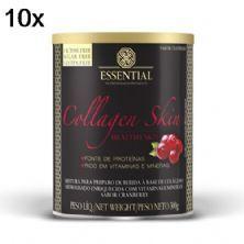 Kit 10X Collagen Skin - 300g  Cranberry - Essential Nutrition