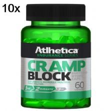 Kit 10X Cramp Block Endurance Series - 60 Cápsulas - Atlhetica Nutrition