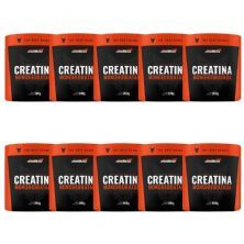 Kit 10X Creatina Monohidratada - 300g - New Millen