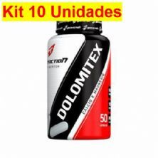 Kit 10X Dolomitex - 50 Cápsulas - BodyAction