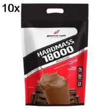 Kit 10X Hard Mass 18000 - 3000g Chocolate - BodyAction