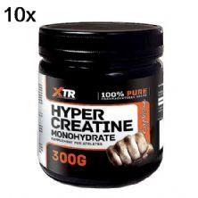 Kit 10X Hyper Creatine Monohydrate - 300g - XTR