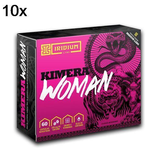 Kit 10X Kimera Woman Thermo - 60 Comprimidos - Iridium no Atacado