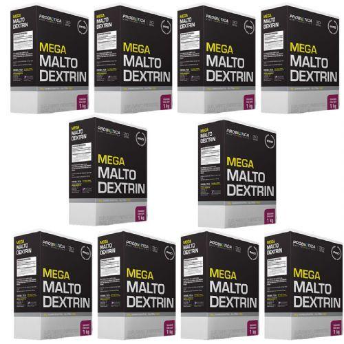Kit 10X Mega Maltodextrin - 1 Kg Guaraná com Açaí - Probiótica no Atacado