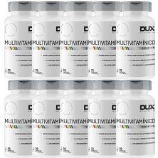 Kit 10X Multivitamínico Esportivo - 90 Cápsulas Softgel - Dux Nutrition