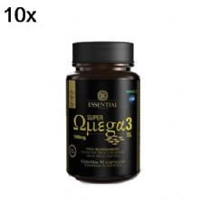 Kit 10X Super Ômega 3 TG - 90 Cápsulas 1g - Essential Nutrition