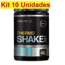 Kit 10X Thermo Shake Diet - 400g Chocolate - Probiótica